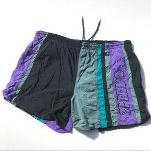 Vintage 90s Speedo Swim Trunks